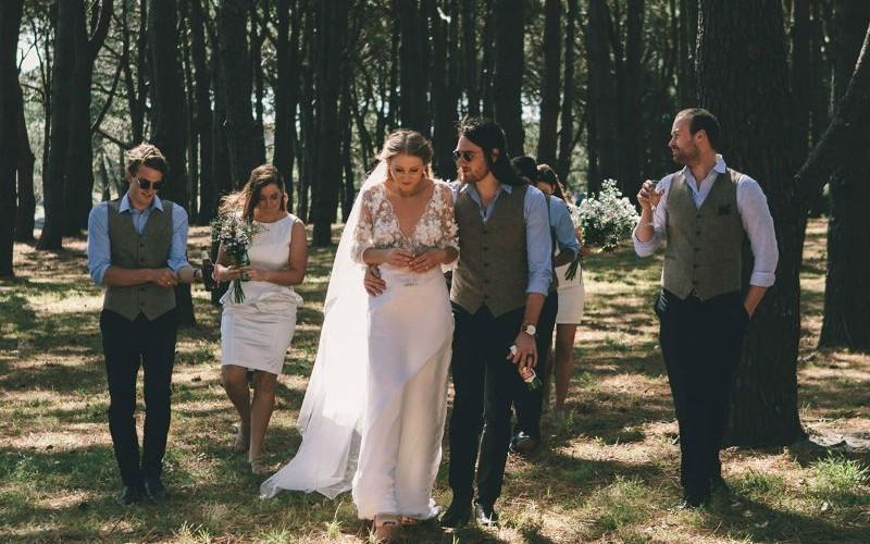 Bride in Centenenial Park