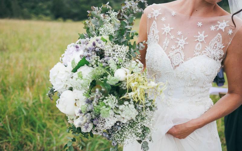 Sophia's Beautiful Bridal Dress