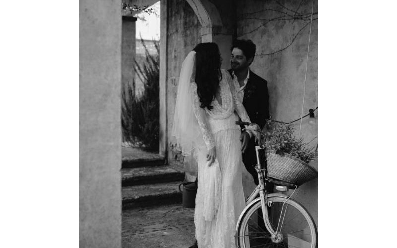 Corinne and Antonio's luxurious wedding at Deux Belettes